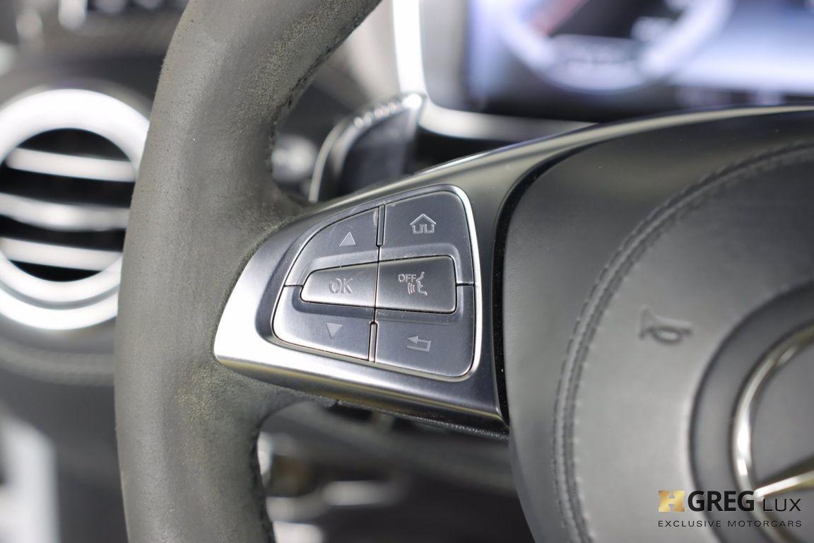 2016 Mercedes Benz S Class AMG S 63 #49