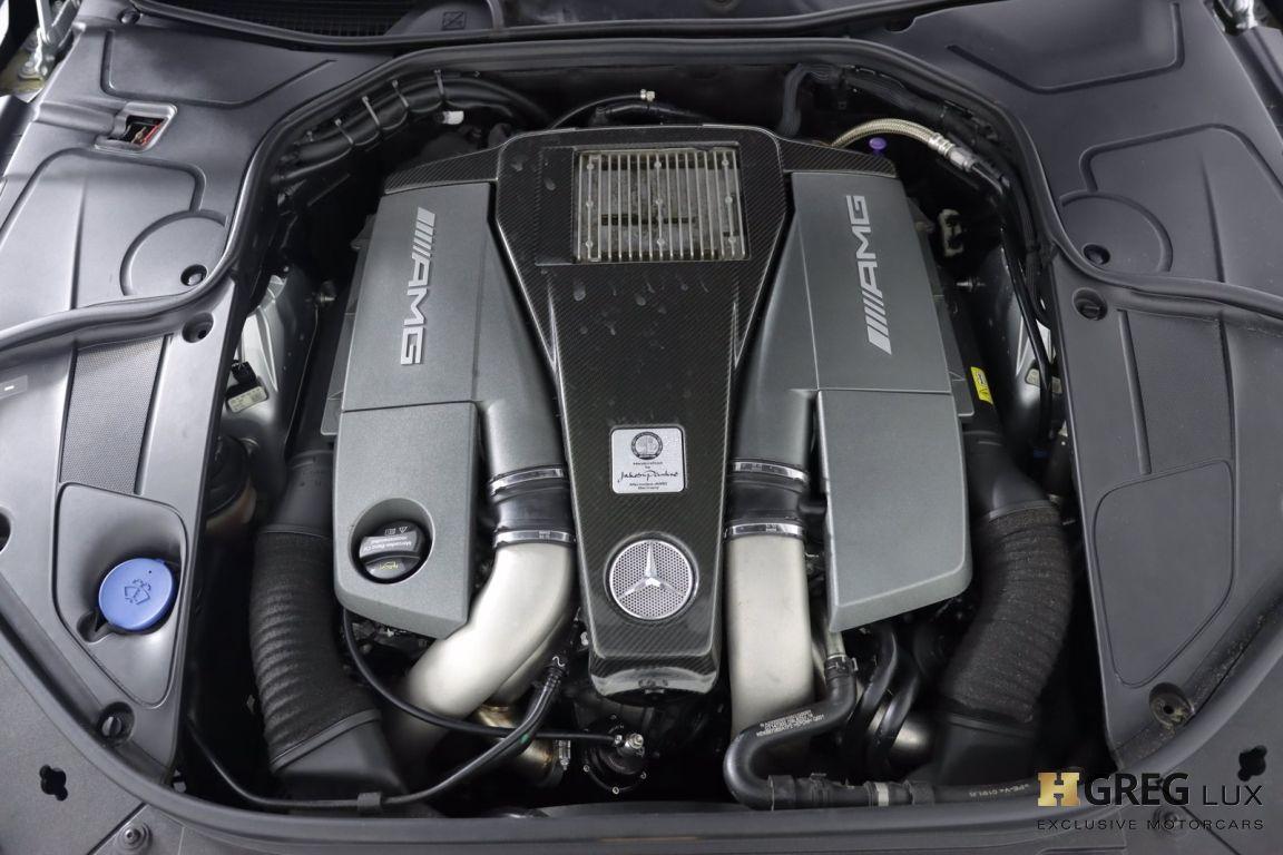 2016 Mercedes Benz S Class AMG S 63 #52