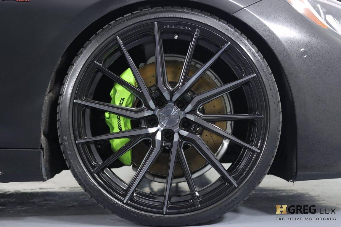 2016 Mercedes Benz S Class AMG S 63 #12