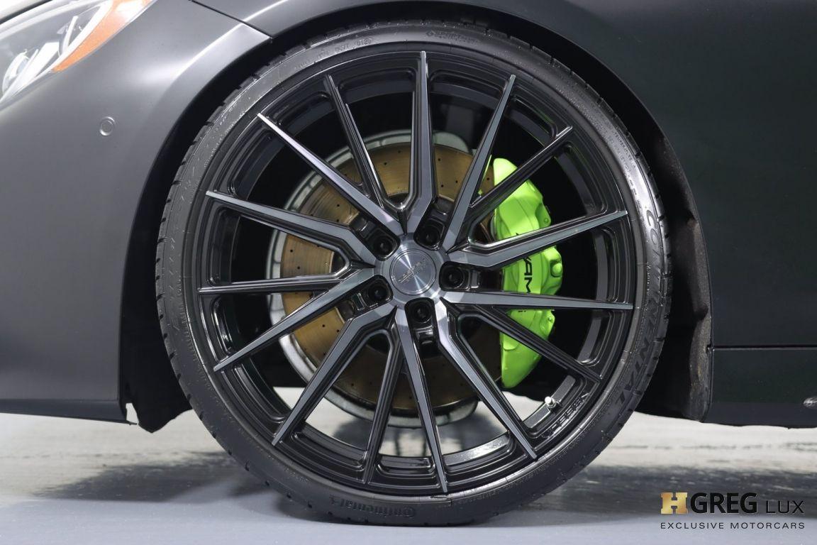 2016 Mercedes Benz S Class AMG S 63 #23