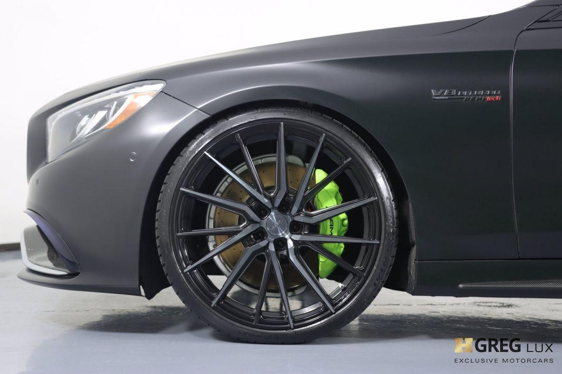 2016 Mercedes Benz S Class AMG S 63 #22