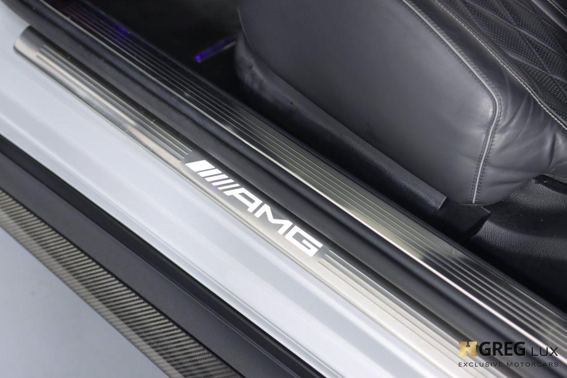 2016 Mercedes Benz S Class AMG S 63 #41