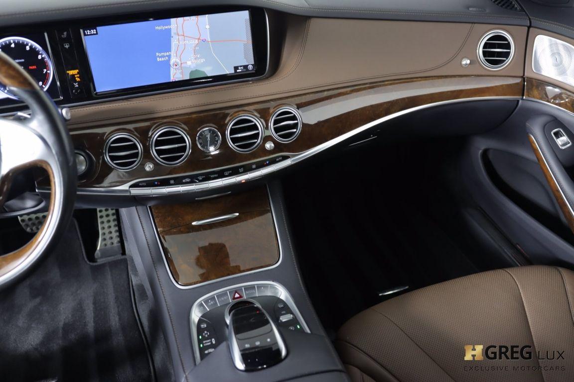 2016 Mercedes Benz S Class S 550 #42