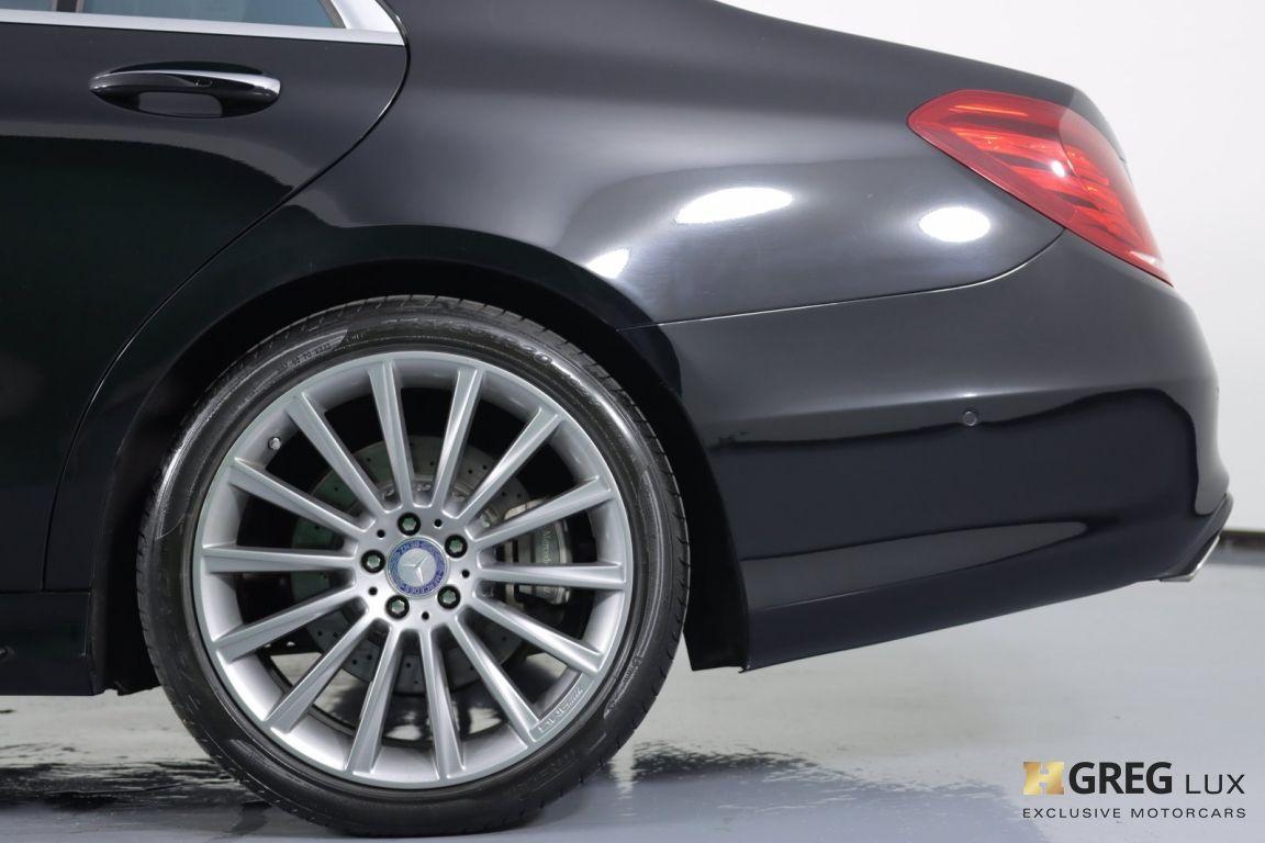 2016 Mercedes Benz S Class S 550 #25