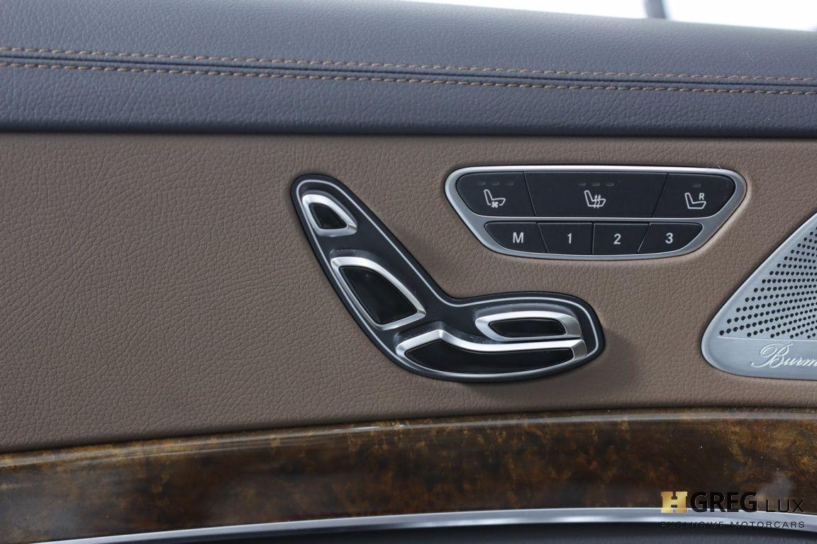2016 Mercedes Benz S Class S 550 #38