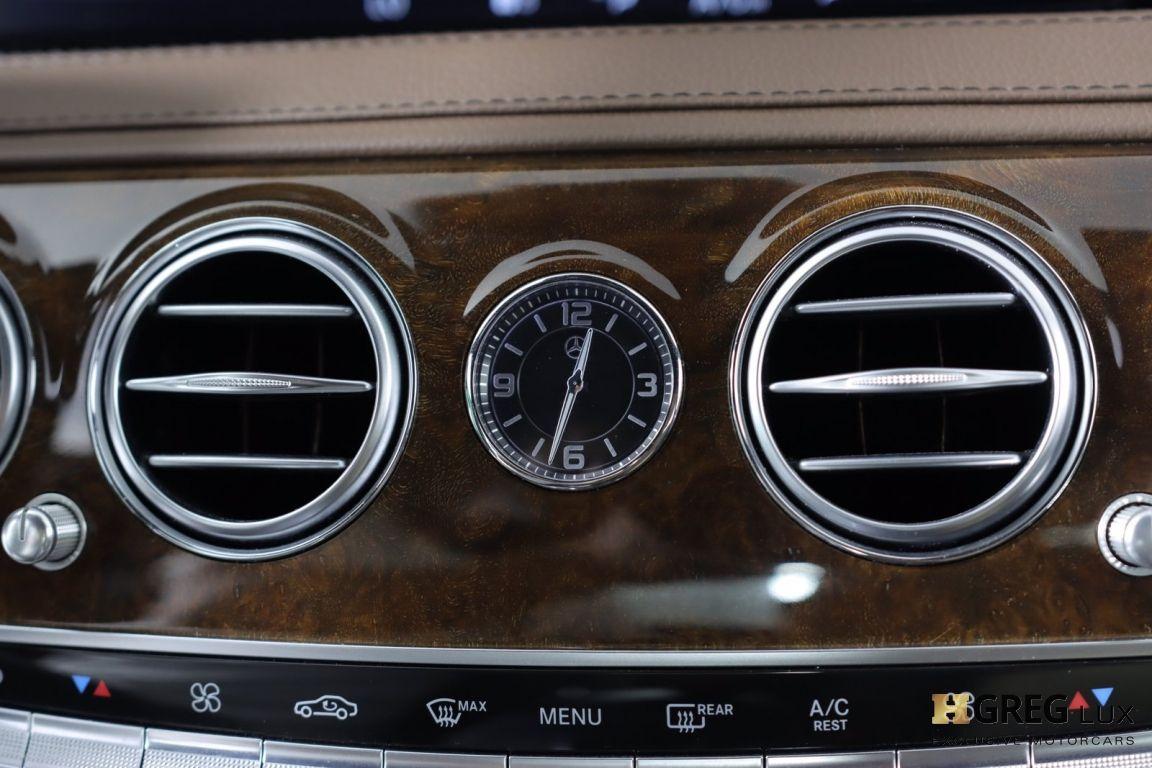 2016 Mercedes Benz S Class S 550 #45