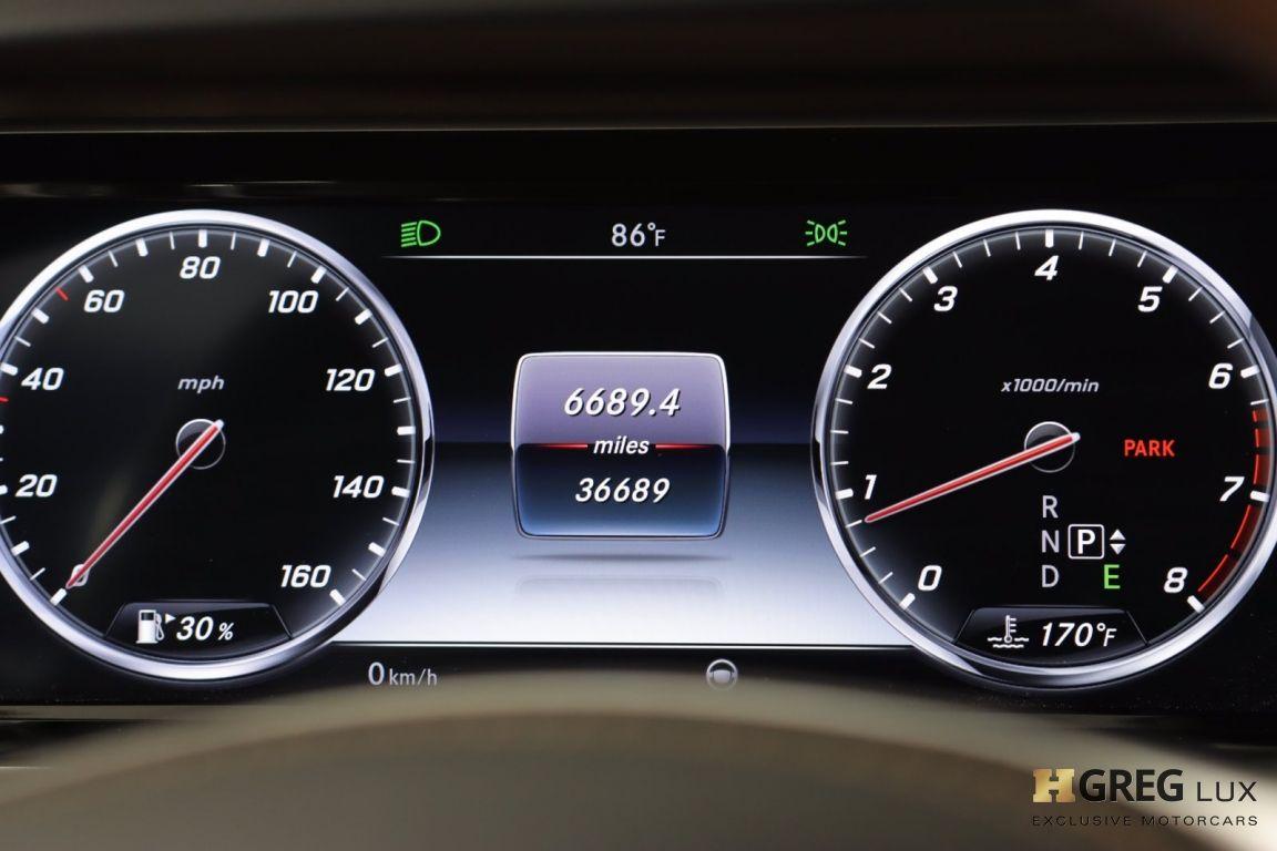 2016 Mercedes Benz S Class S 550 #48