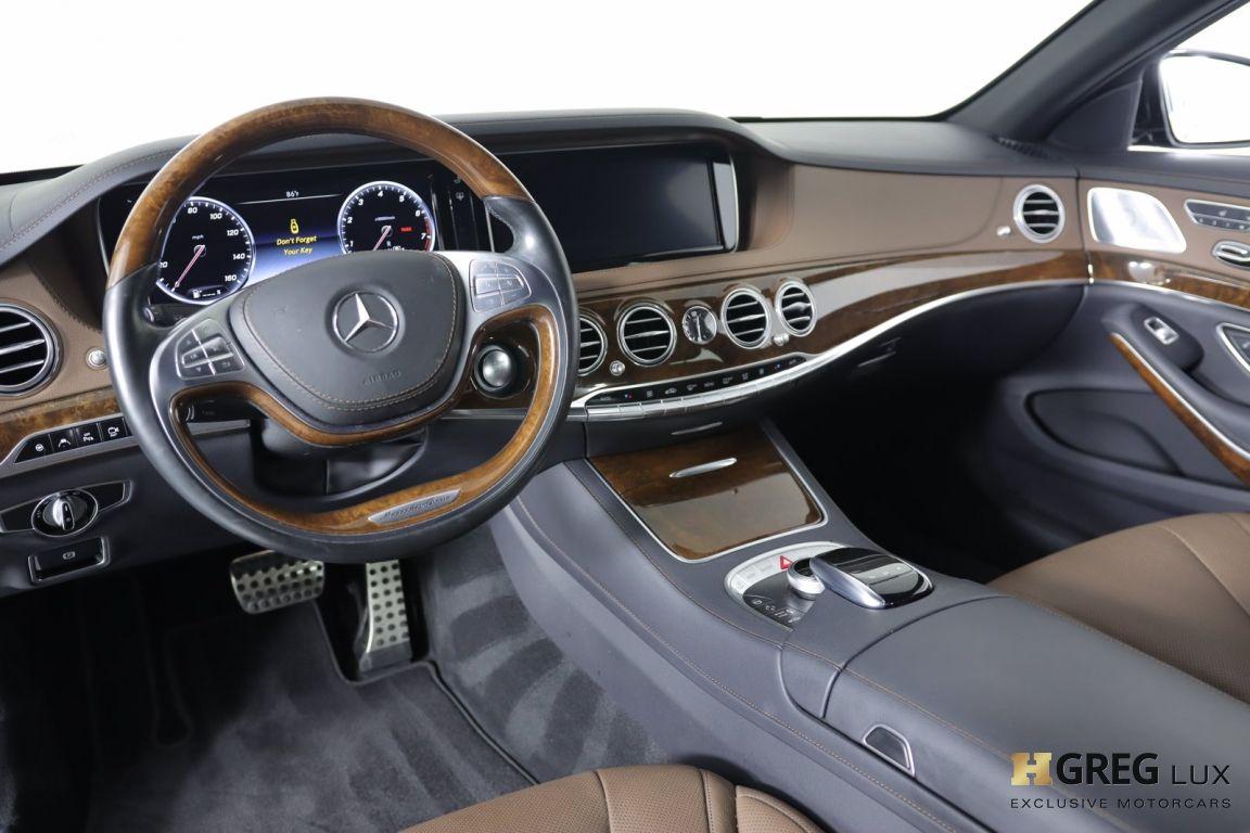 2016 Mercedes Benz S Class S 550 #1