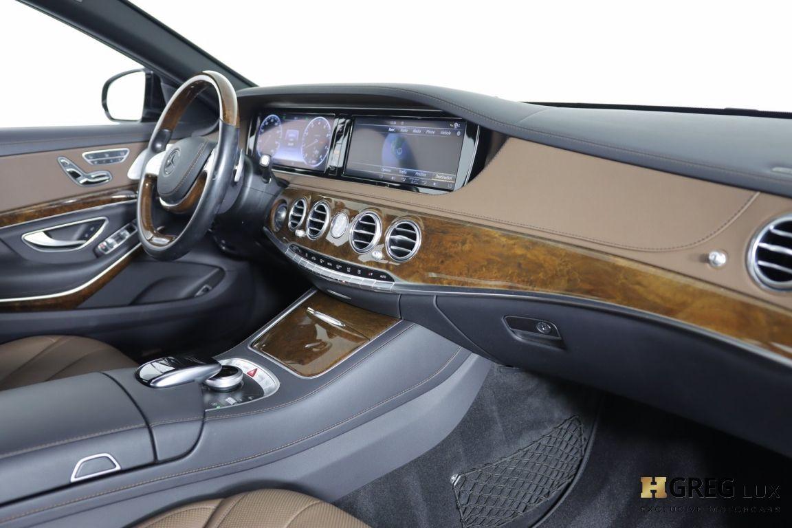 2016 Mercedes Benz S Class S 550 #29