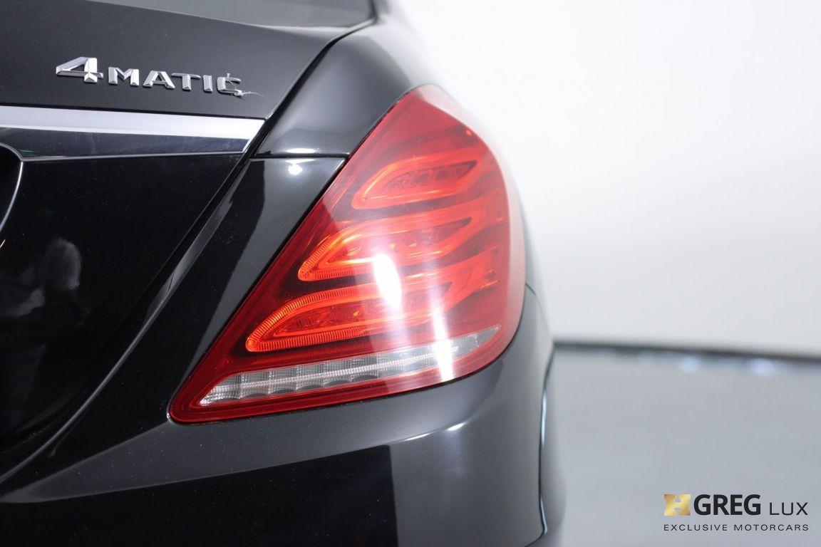 2016 Mercedes Benz S Class S 550 #18