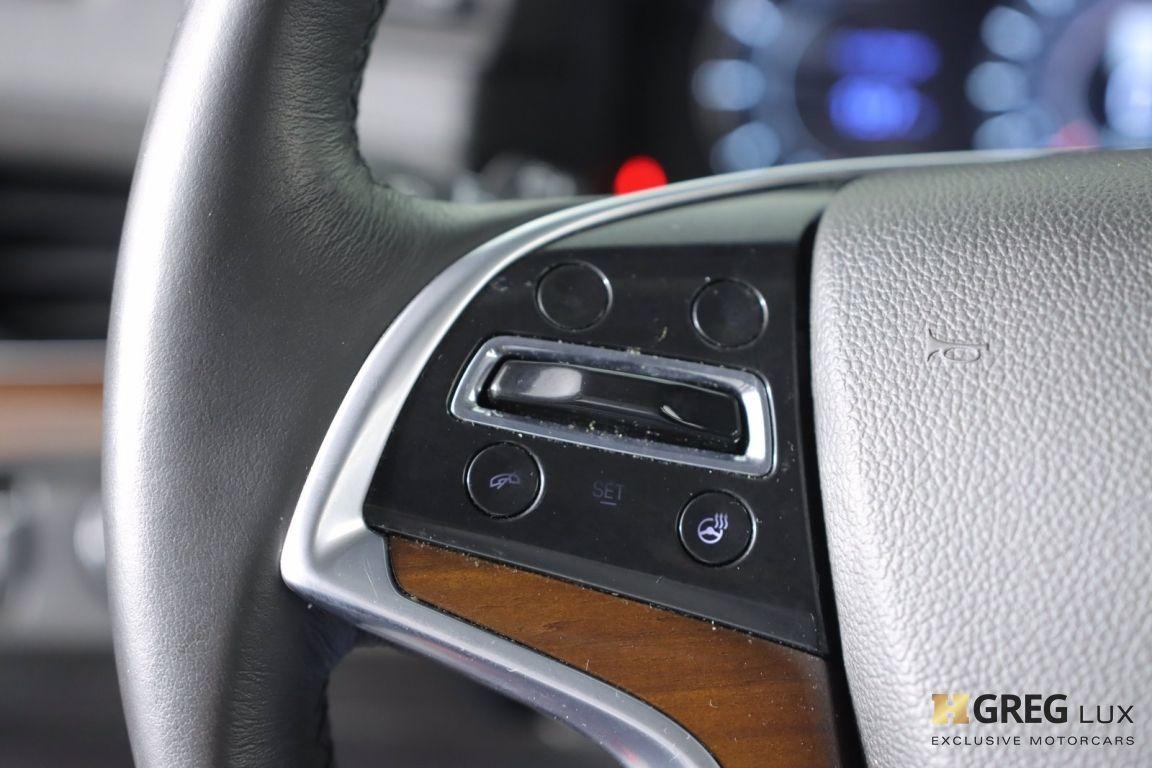 2017 Cadillac Escalade Luxury #47