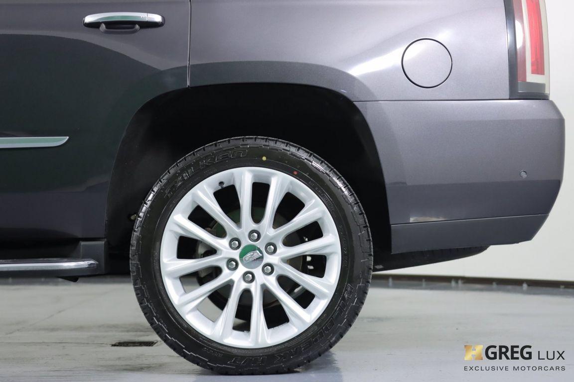 2017 Cadillac Escalade Luxury #23