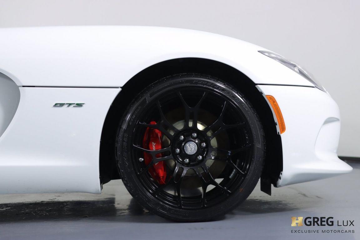 2013 Dodge SRT Viper GTS #9