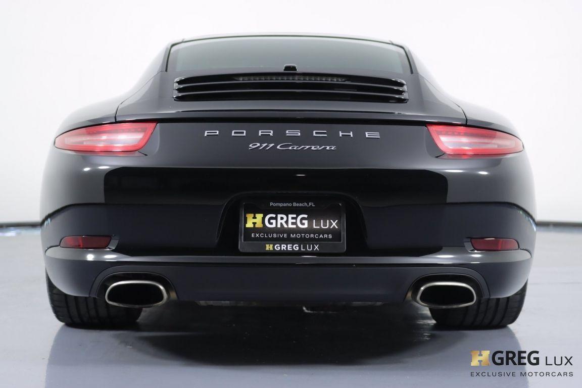 2014 Porsche 911 Carrera #16