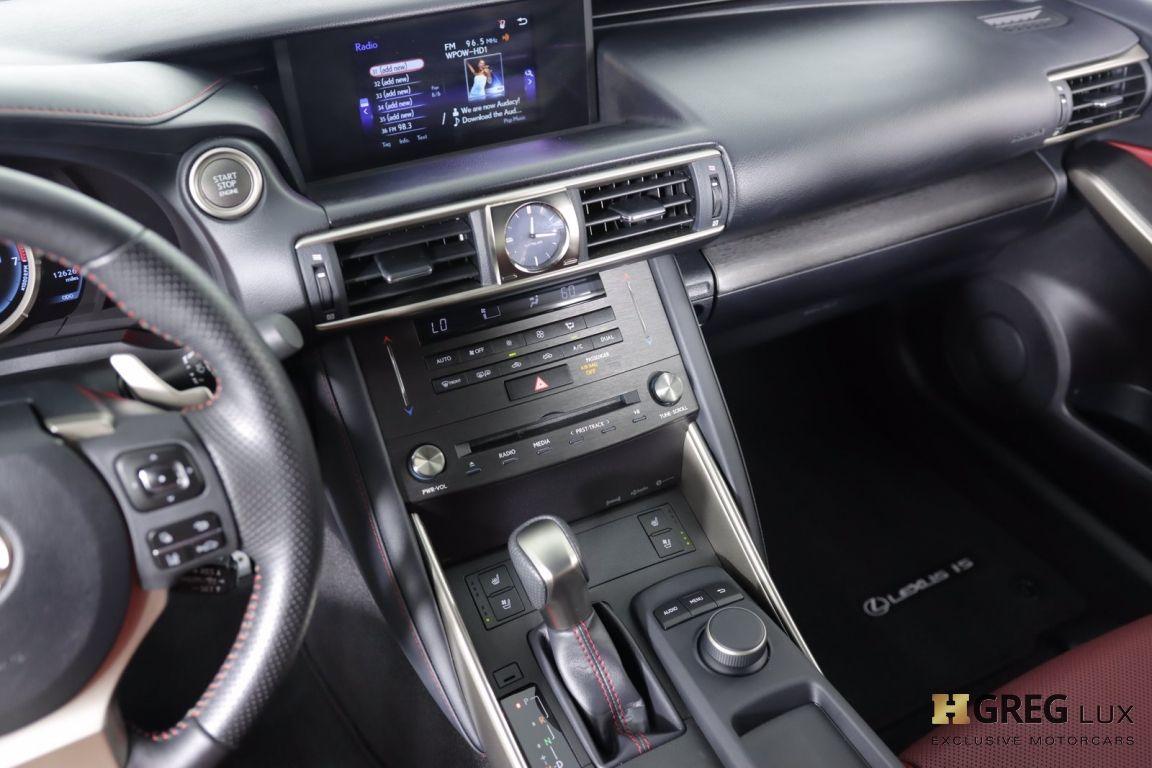 2019 Lexus IS IS 300 F SPORT #41