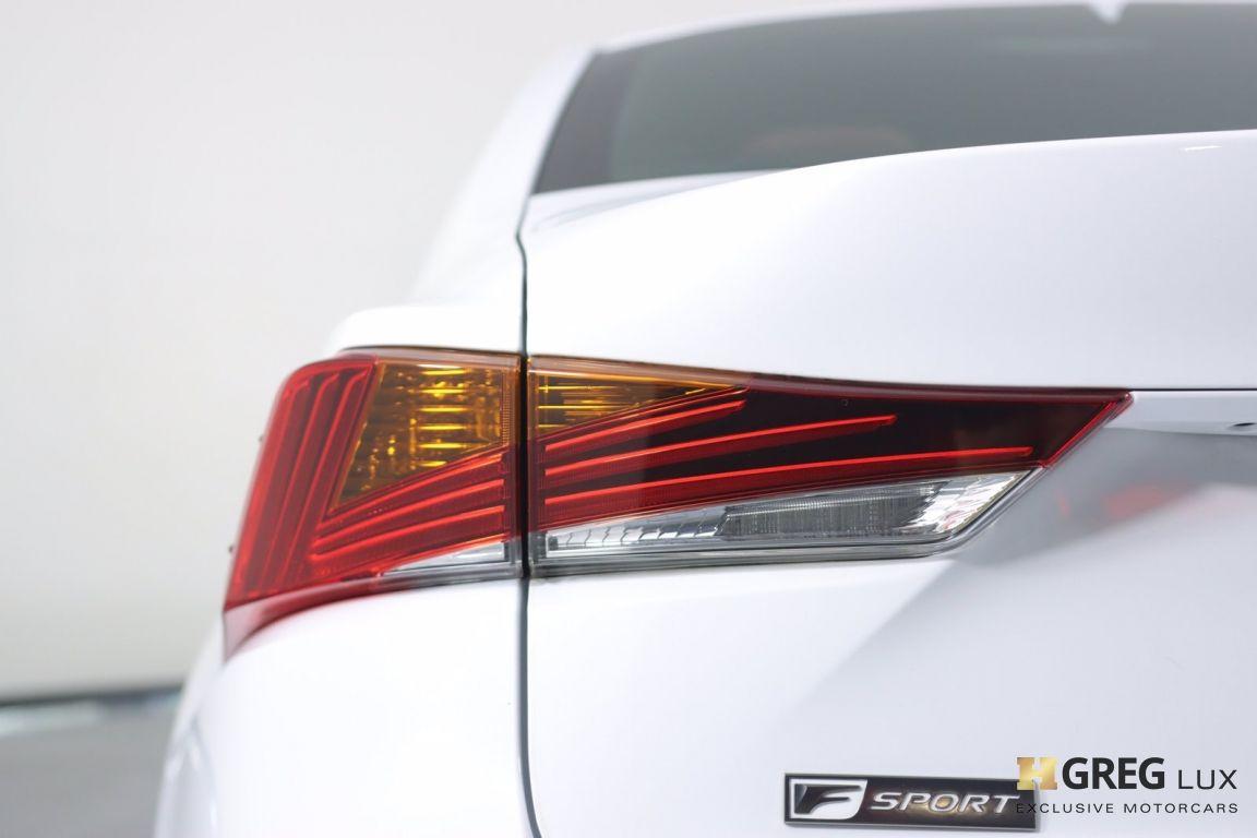 2019 Lexus IS IS 300 F SPORT #17