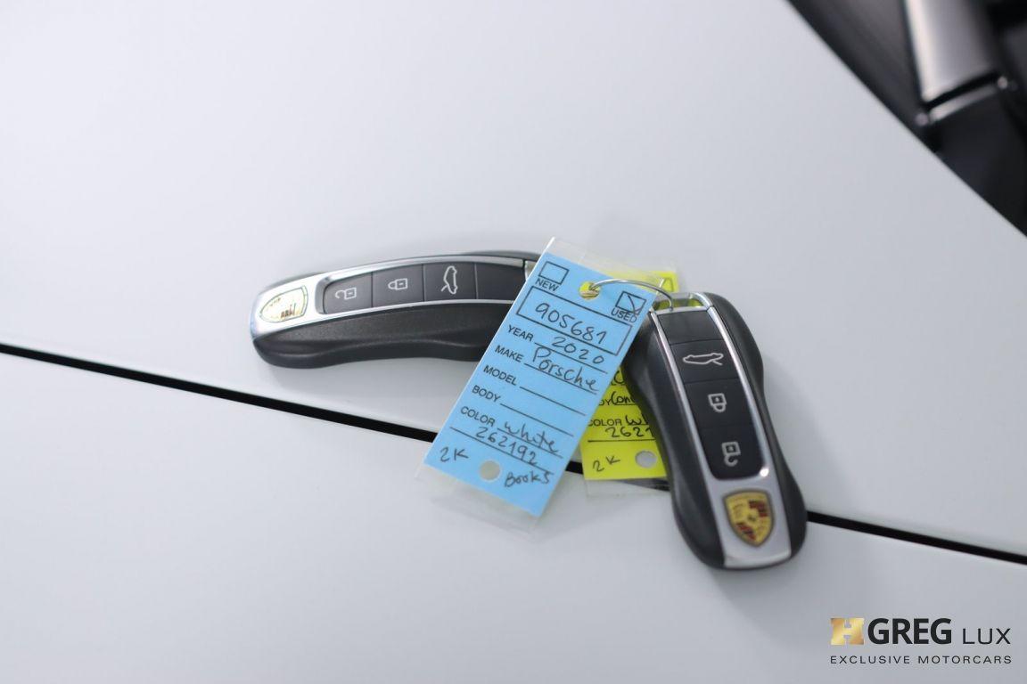 2020 Porsche 911 Carrera S #54
