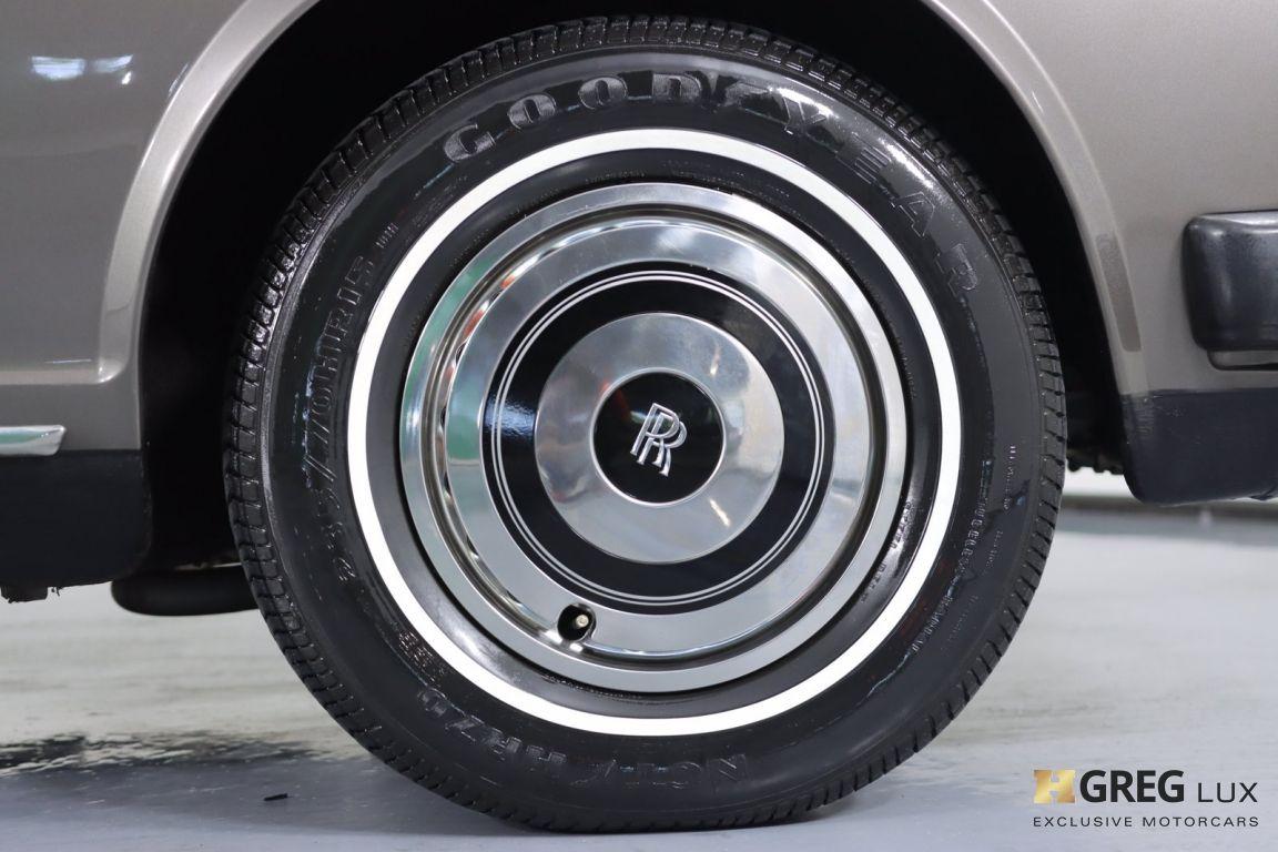 1986 Rolls Royce Silver Spur  #12