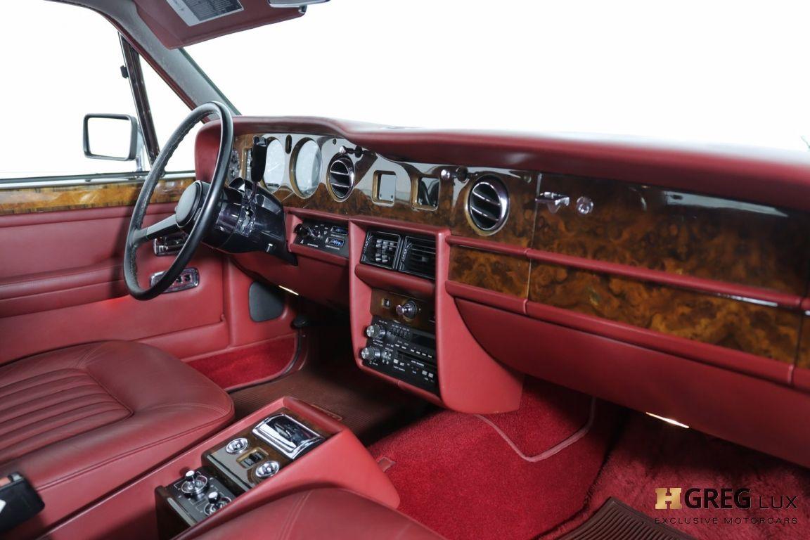 1986 Rolls Royce Silver Spur  #28