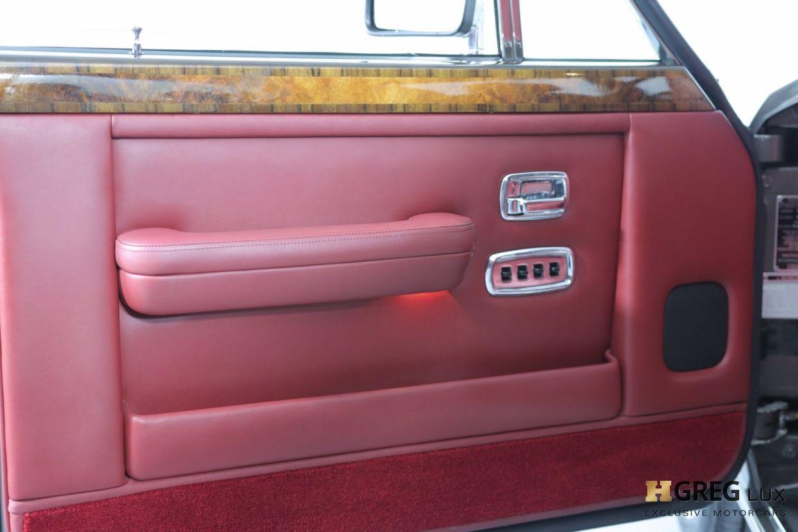 1986 Rolls Royce Silver Spur  #36