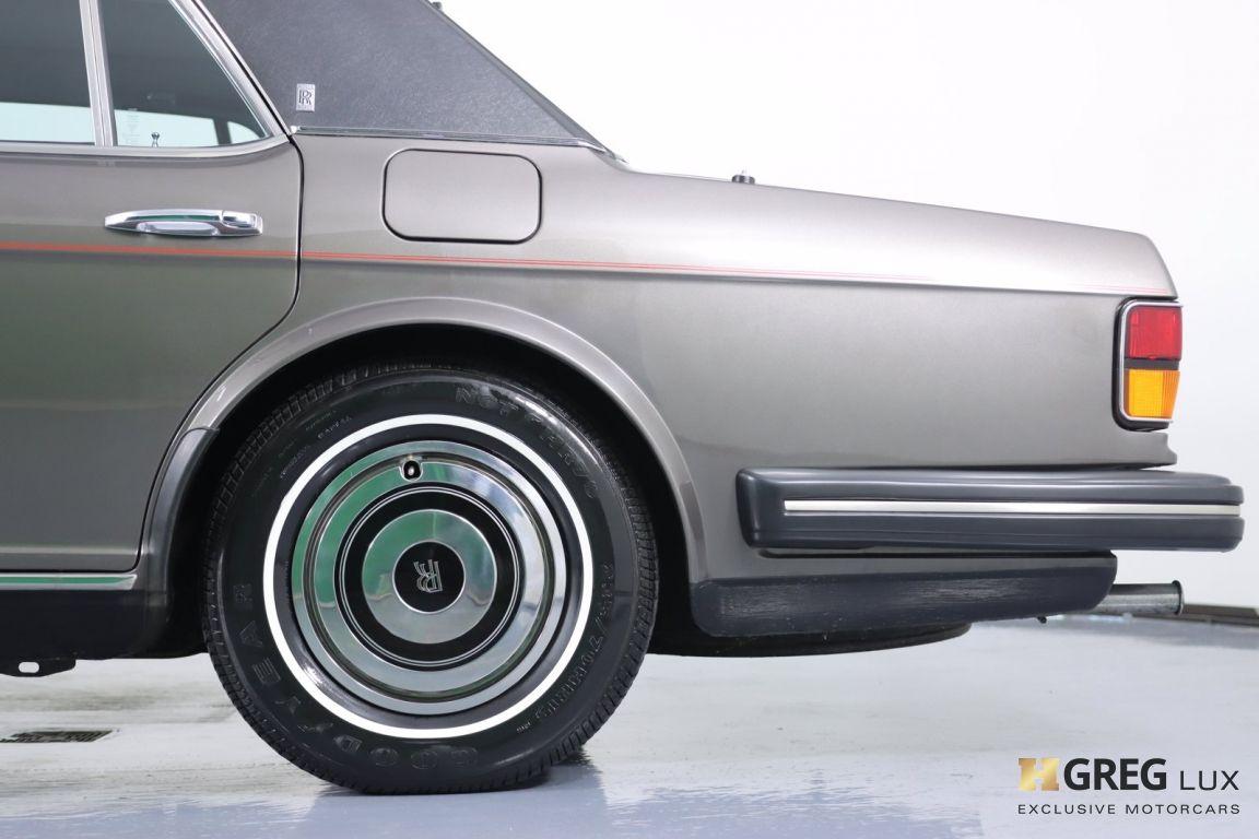 1986 Rolls Royce Silver Spur  #24