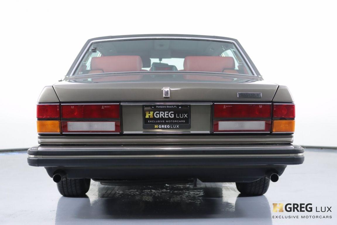 1986 Rolls Royce Silver Spur  #16