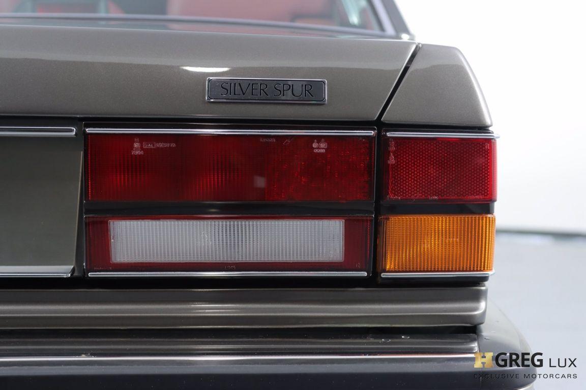 1986 Rolls Royce Silver Spur  #18