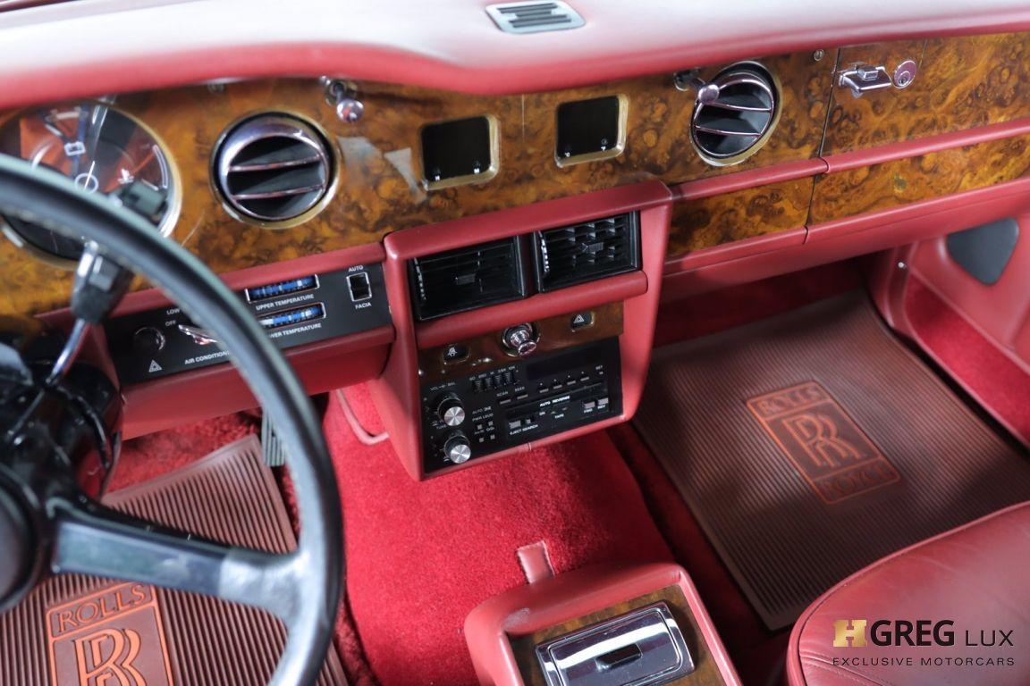 1986 Rolls Royce Silver Spur  #39