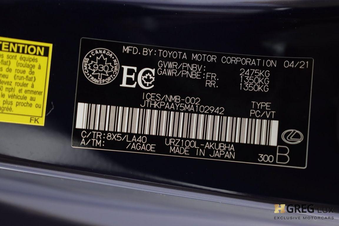 2021 Lexus LC LC 500 #54