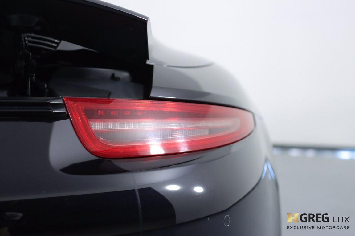 2016 Porsche 911 Carrera GTS #20