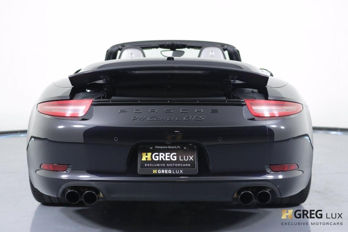 2016 Porsche 911 Carrera GTS #18