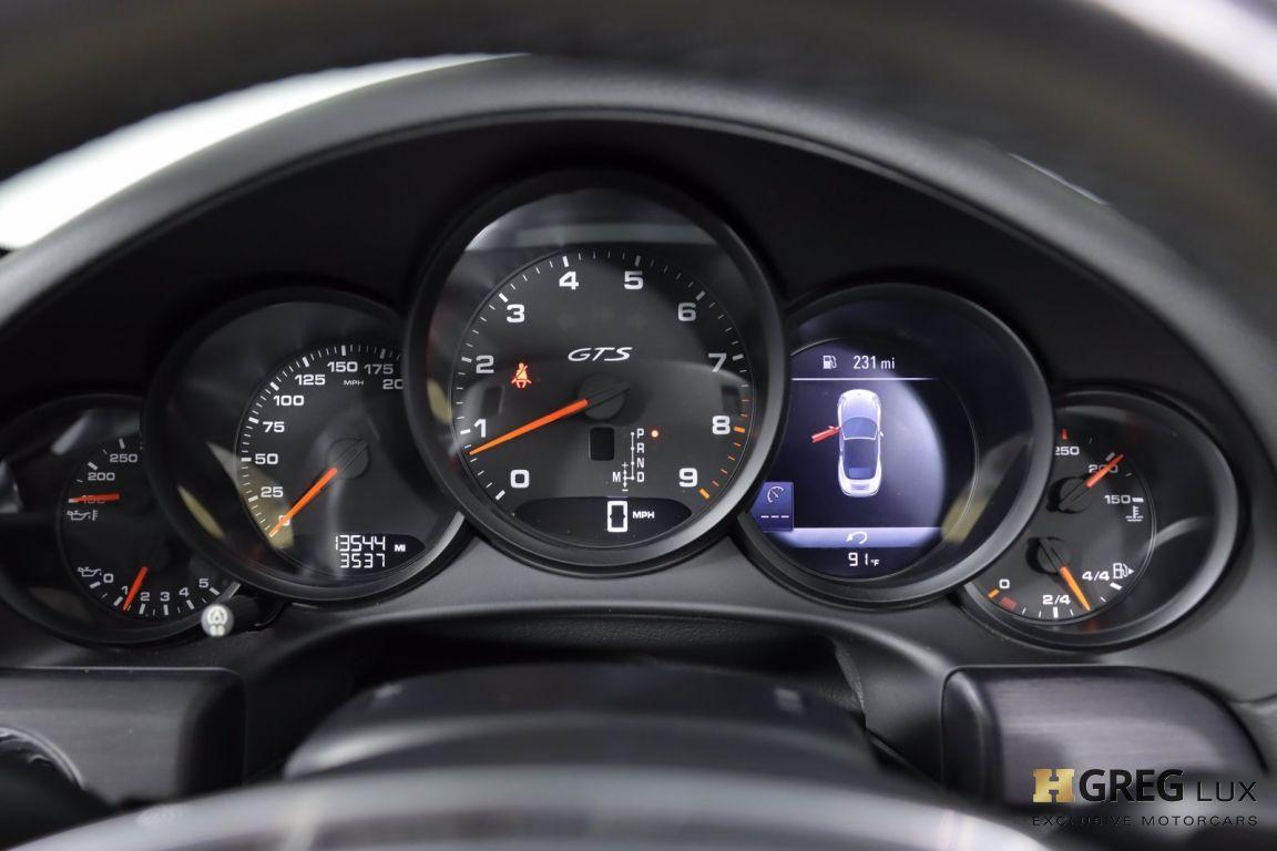 2016 Porsche 911 Carrera GTS #48