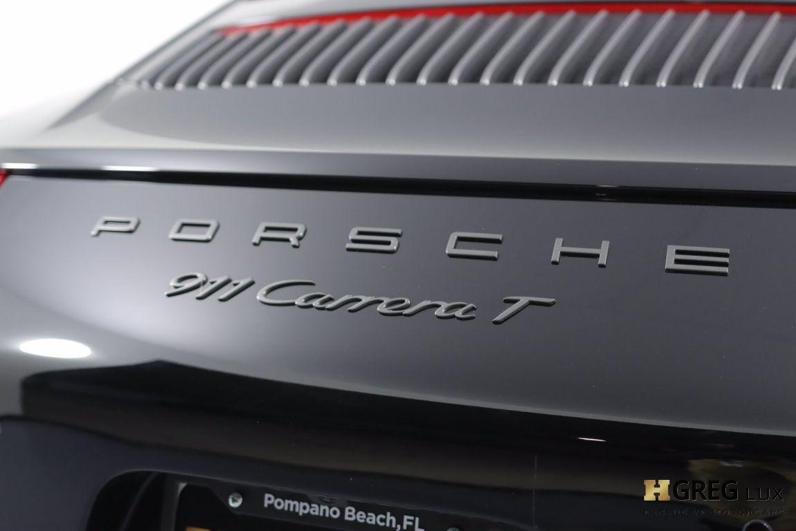 2019 Porsche 911 Carrera T #19
