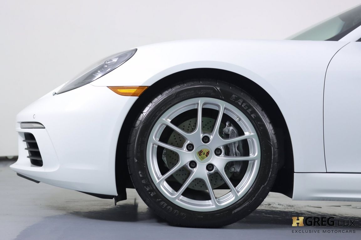 2019 Porsche 718 Boxster  #24