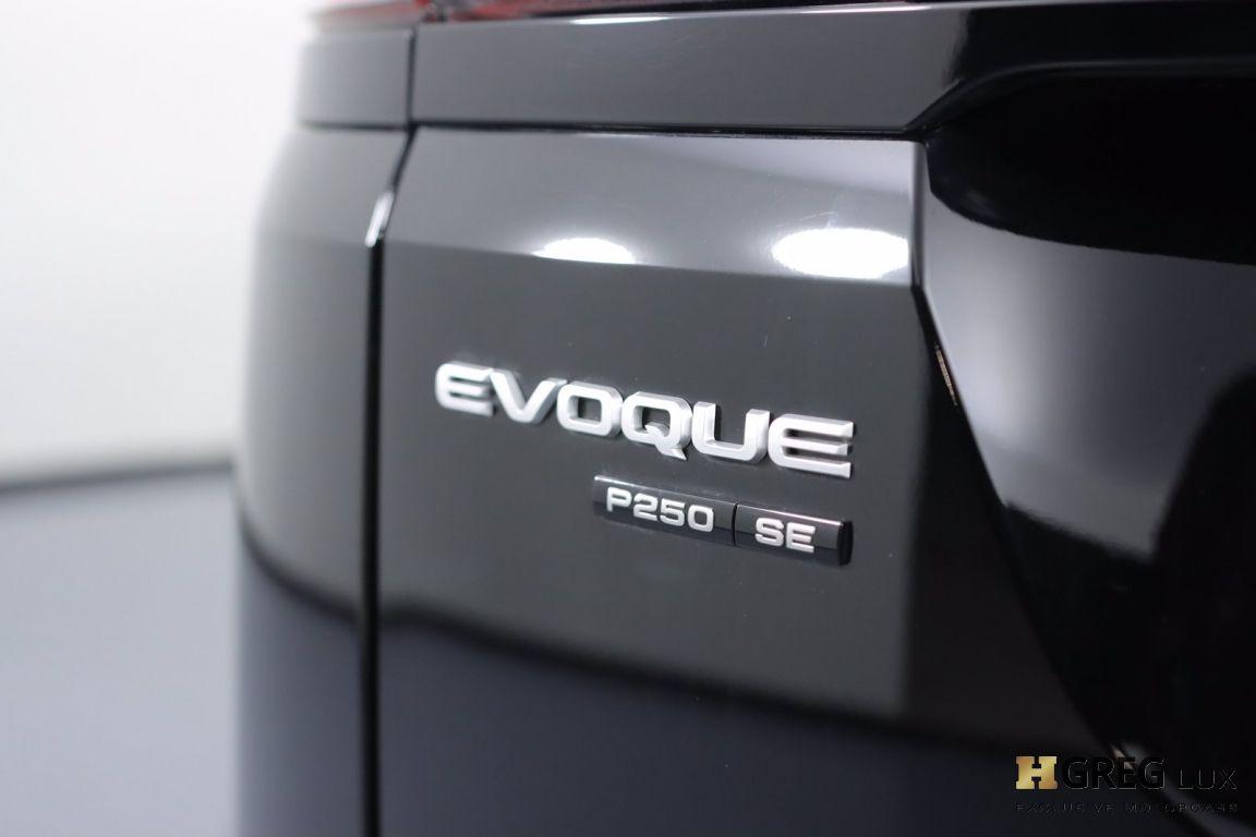 2020 Land Rover Range Rover Evoque SE #20