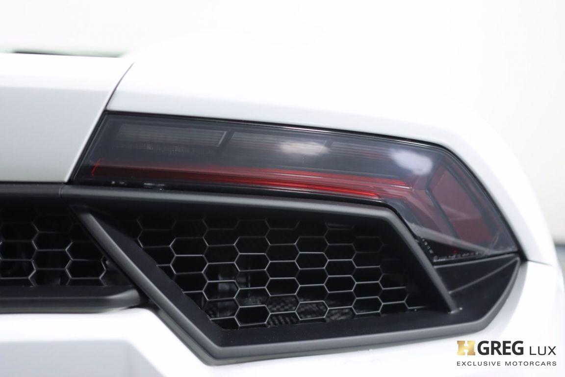 2018 Lamborghini Huracan LP580-2S #20
