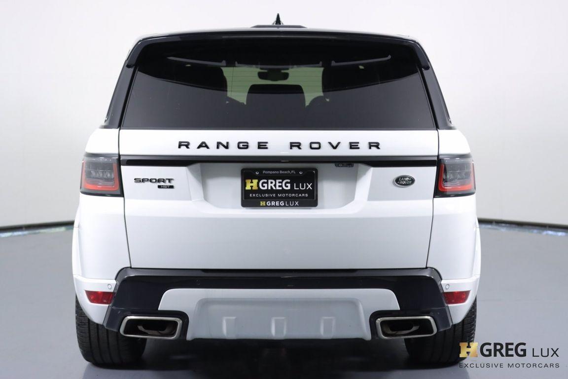 2020 Land Rover Range Rover Sport HST #16
