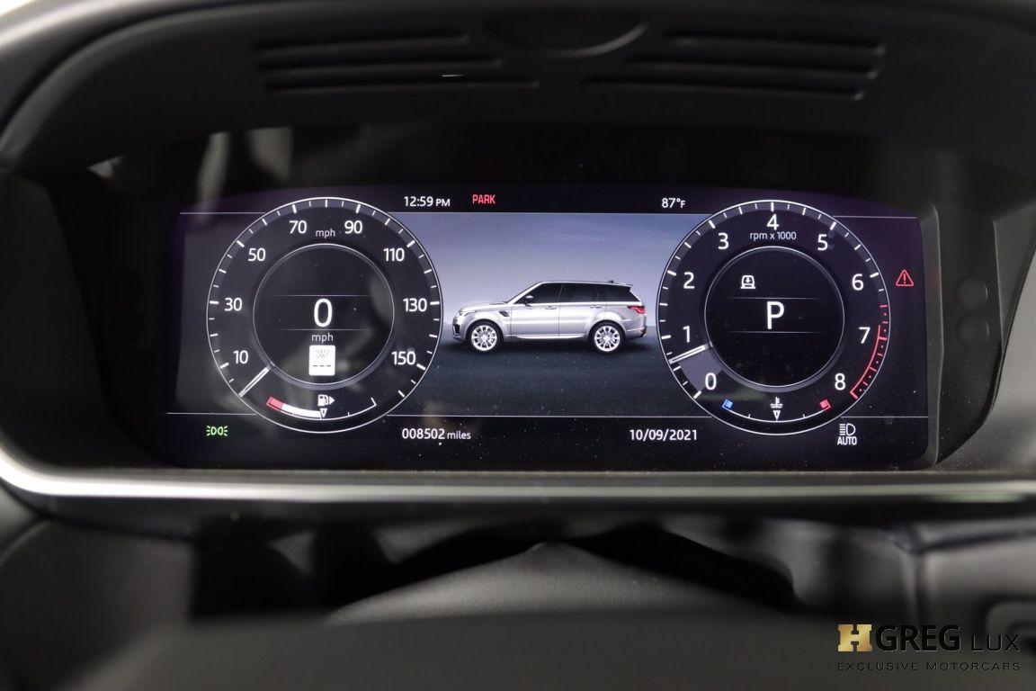 2020 Land Rover Range Rover Sport HST #44