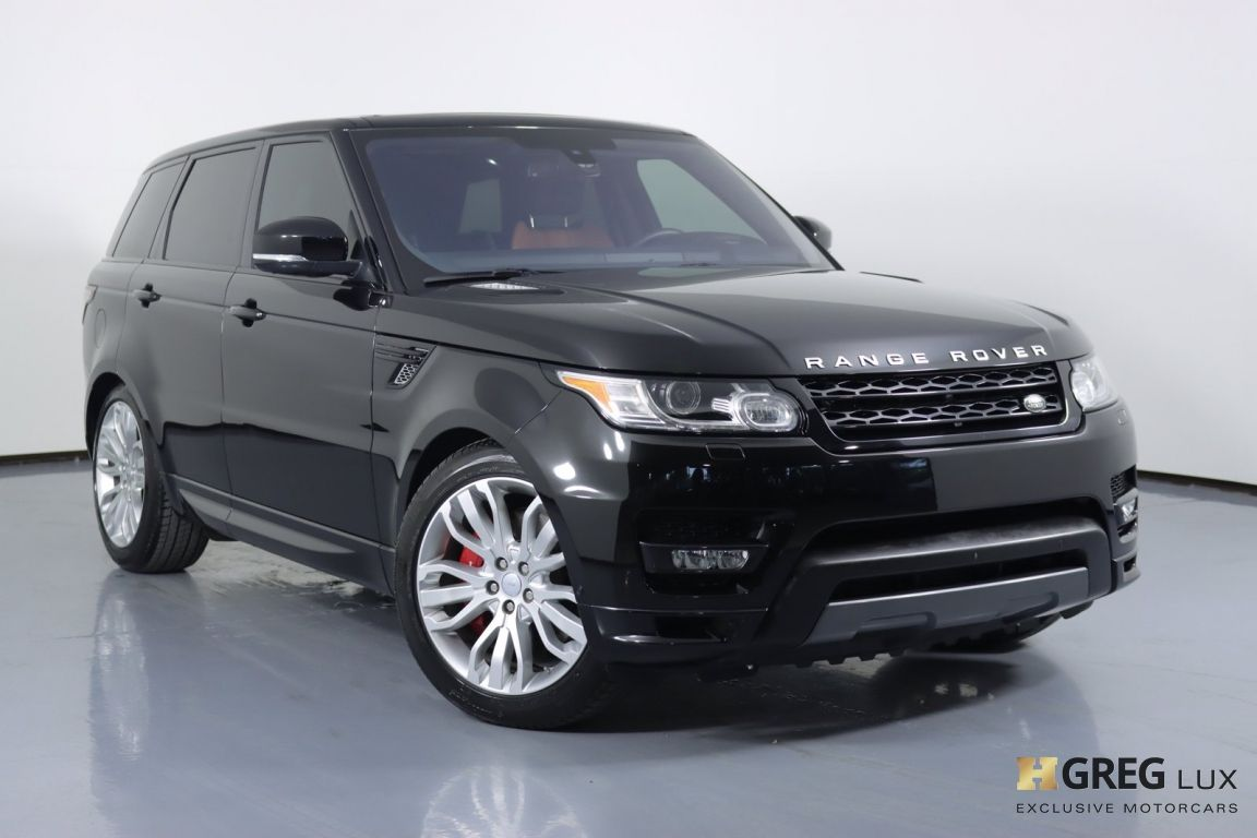 2016 Land Rover Range Rover Sport Autobiography #0