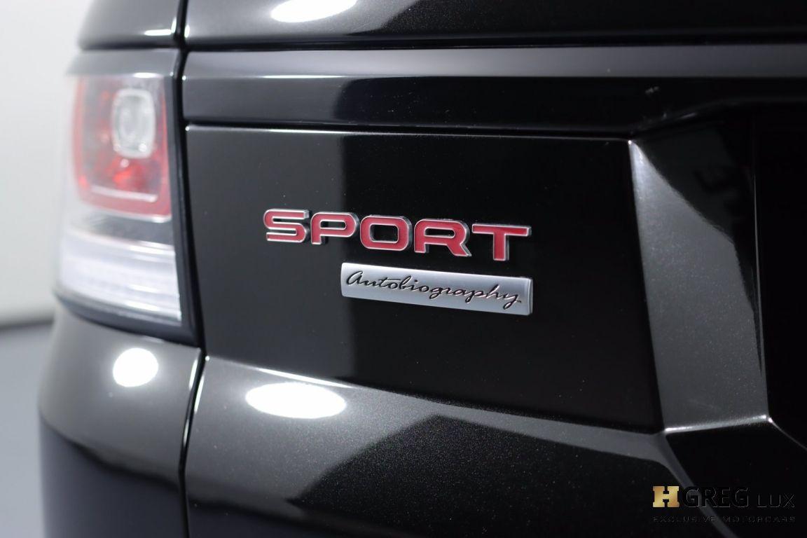 2016 Land Rover Range Rover Sport Autobiography #20