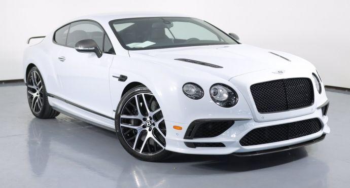 2017 Bentley Continental GT Supersports #0