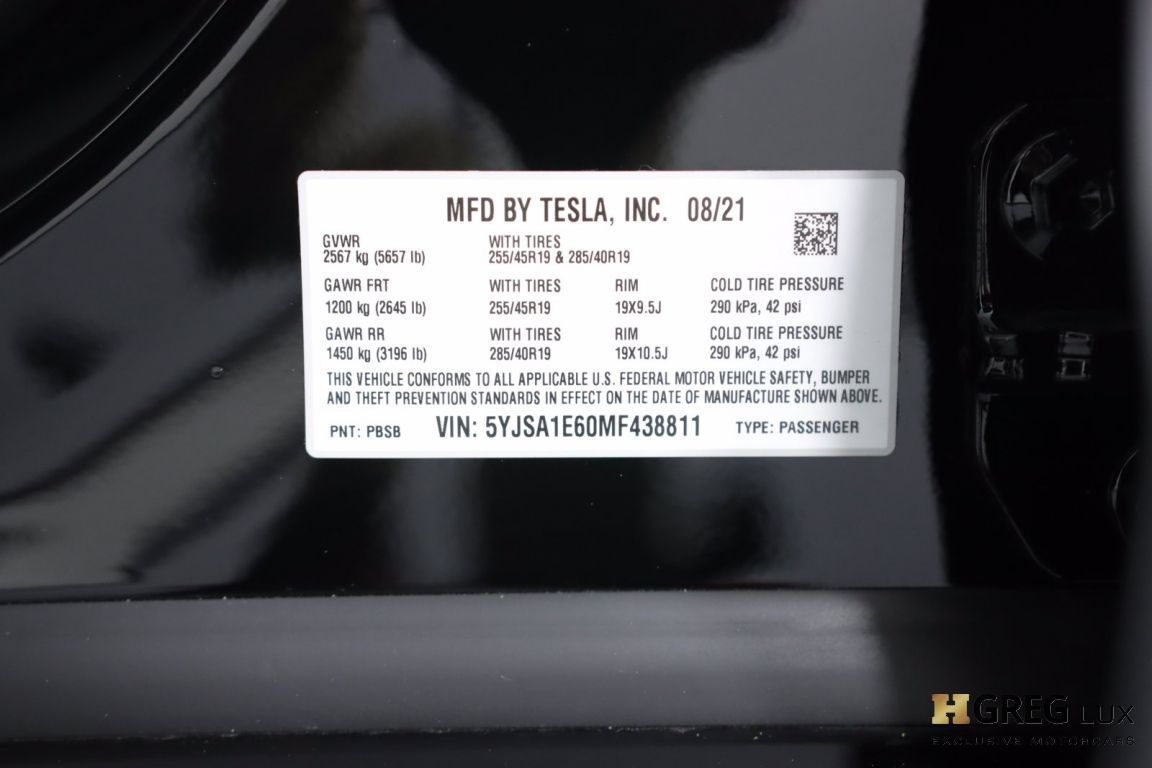 2021 Tesla Model S Plaid #48