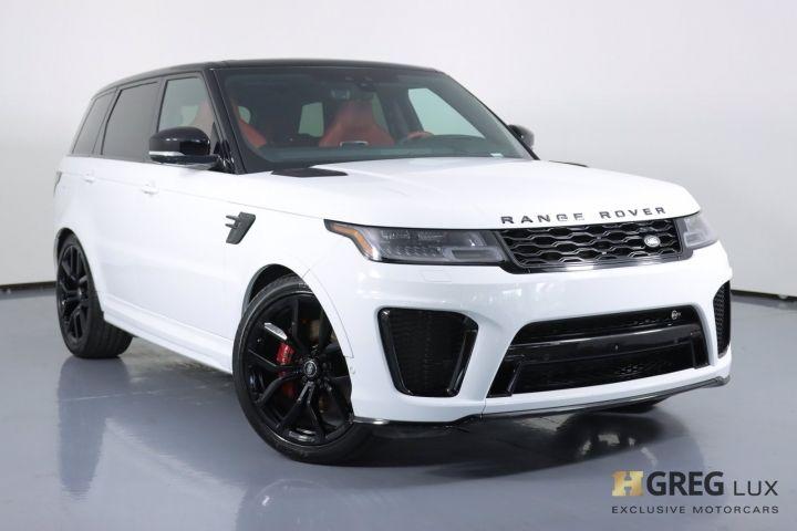2021 Land Rover Range Rover Sport SVR #0