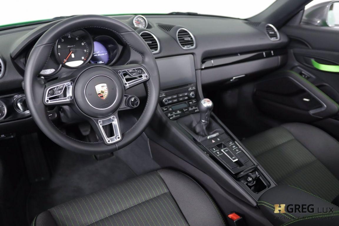 2021 Porsche 718 Boxster T #1