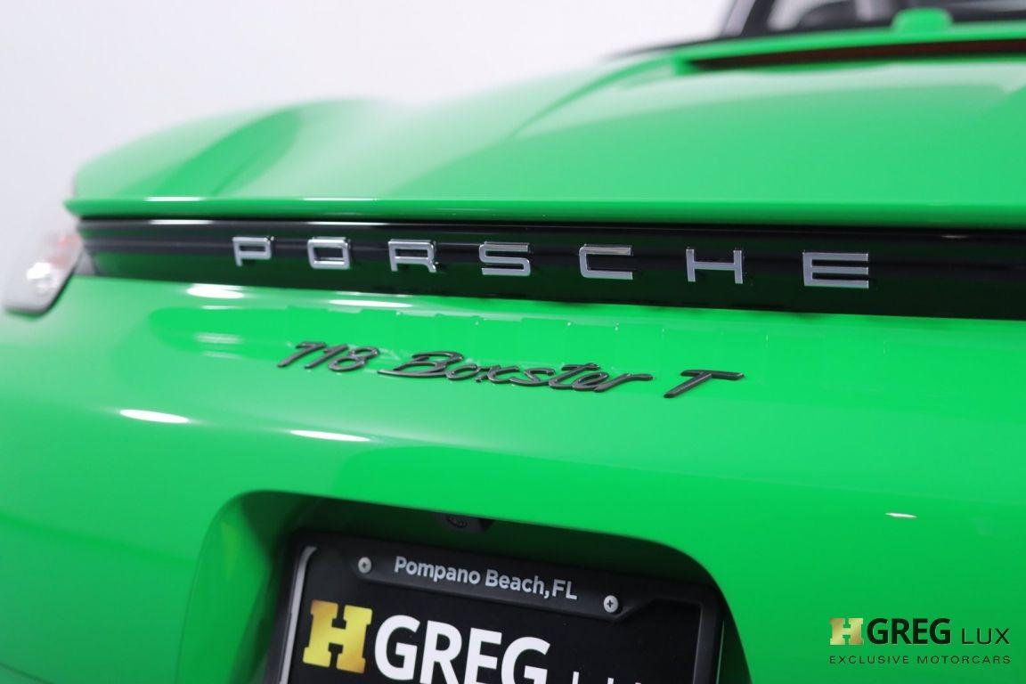 2021 Porsche 718 Boxster T #19
