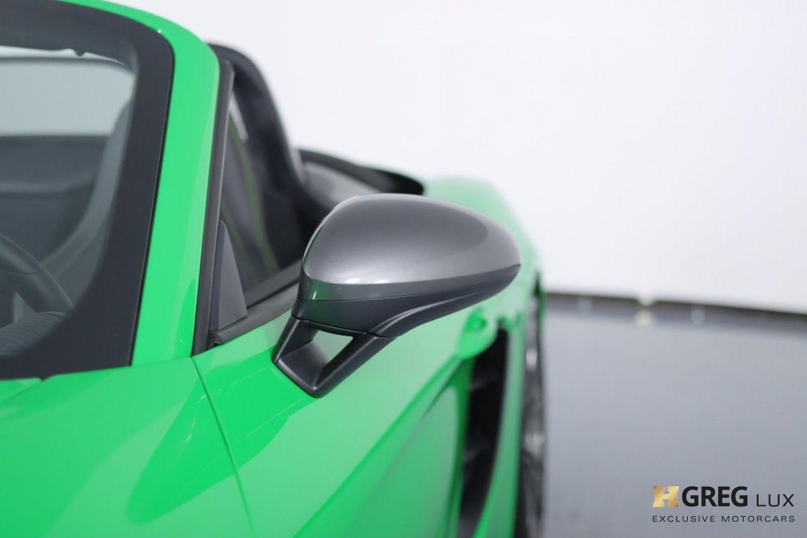 2021 Porsche 718 Boxster T #8
