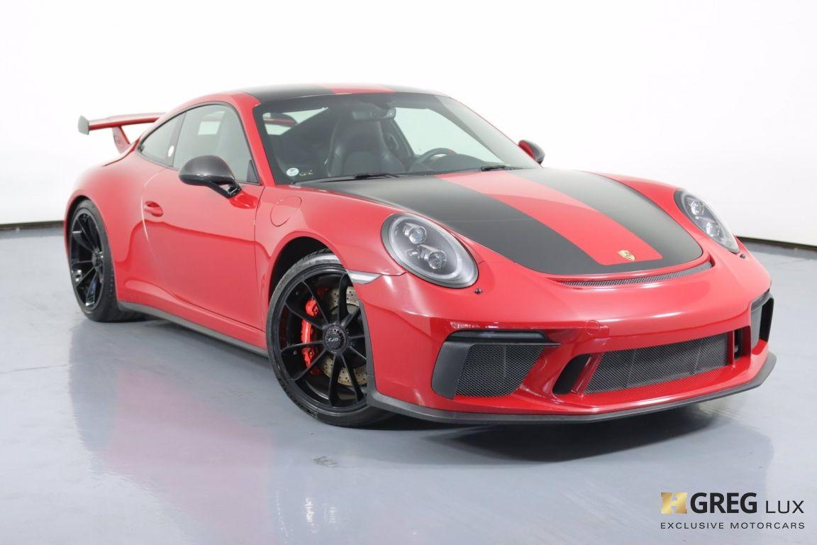 2018 Porsche 911 GT3 #0