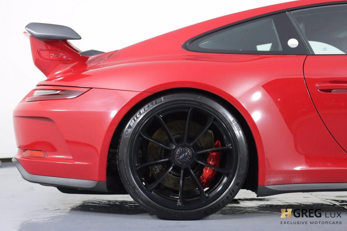 2018 Porsche 911 GT3 #13