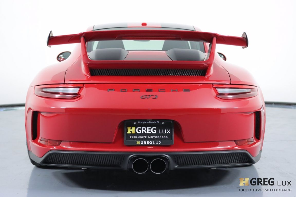 2018 Porsche 911 GT3 #16