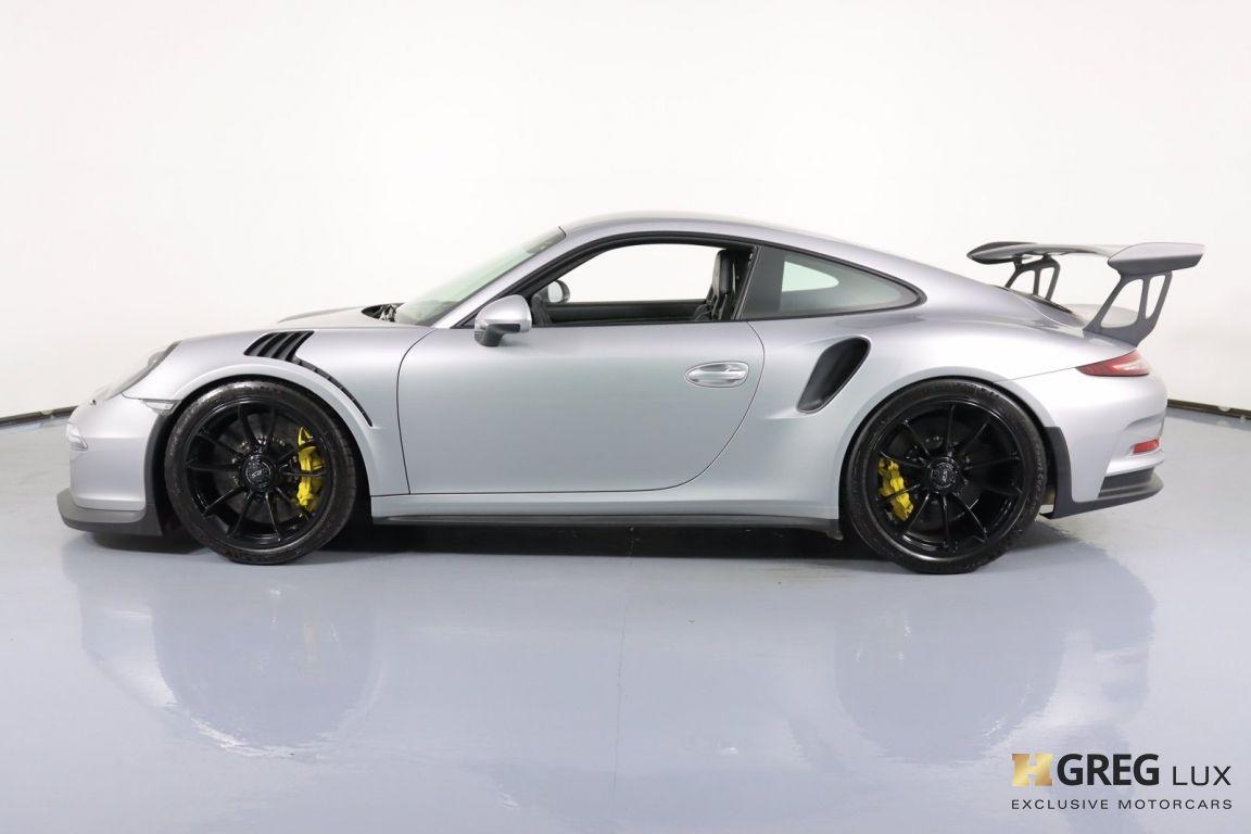 2016 Porsche 911 GT3 RS #21